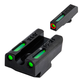TruGlo TFX Pro Front/Rear Day/Night Sight Set for Walther PPS M2 Handgun - TG13WA4PC