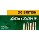 Sellier & Bellot 150 gr Semi-Jacketed Soft Point .303 British Ammo, 20/box - SB303B