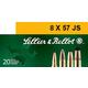 Sellier & Bellot 196 gr Semi-Jacketed Soft Point Cutting Edge 8x57mm JS Ammo, 20/box - SB857JSB