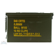 Federal 5.56 55gr FMJBT Clipped Ammunition in 840rd Ammo Can - XM193K