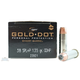 Speer 38 Special+P 135gr Gold Dot