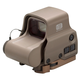 Eotech EXPS3 1x30.5mm x 21.6mm Holographic Hybrid Red Dot Sight, Tan - EXPS32T
