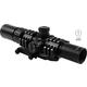 Aim Sports Recon 1.5-4x30mm Tri-Illuminated 3/4 Circle Dot CQB Rifle Scope w/ Lock Turrets - JTHR1