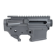 PSA Custom AR-15 5.56 Forged Upper & Lower Receiver Set, Stripped, Gray - PA15CUSTOMGRAYSET