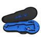 PSA Custom AKV Padded Violin Case - Black with Blue Custom Foam