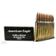 American Eagle 5.56mm 55gr FMJ Ammunition 30rds/Clipped - XM193J