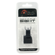 Aim Sports Low-Profile Front Flip-Up Sight for AR-15 Style Rifle - MT200