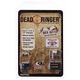 Dead Ringer Duck Buster Front Dot/Rear Oval Sight for Many Ribbed Shotguns - DR4348