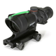 TA31F-G: Trijicon ACOG 4x32 Scope - Green Chevron BAC Reticle
