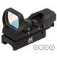 NcStar 1x24x34mm Reflex Sight, Illuminated 4 Pattern 3 MOA Red/Green - D4RGB