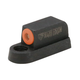 Night Fision Perfect Dot Front Night Sight for CZ-USA P-07 and P-09 Handguns, Green with Orange Outline - CZU-075-001-OGXX