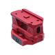 Strike Industries AR-15 6061 T6 Aluminum Riser Mount, Red - T1-Riser-Red