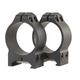 Warne Scope Mounts Maxima 30mm High Steel Fixed Scope Ring, Matte Black - 215M