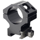Barrett Firearms Zero Gap 30mm High 7075 T6 Aluminum Scope Ring, Hard Anodized Black - 13323