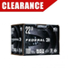 Case of Federal .22 LR 38 gr CPHP Black Pack, 4,400rds - 788BF1100