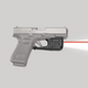 Crimson Trace Laserguard Pro Red Laser Sight and Tactical Light for Glock Gen3 G17 Pistol - LL807