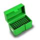 RCBS - Flip-Top Ammo Box 17 Rem, 222 Rem, 223 Rem 50-Round Plastic Green - 86901
