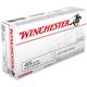 Winchester USA 45 Auto/ACP 230gr FMJ Ammunition 50rds - Q4170