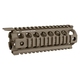 DISC   Midwest Industries Gen2 Drop-In Two Piece Handguard, Carbine Length - OD Green MCTAR-17G2