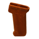 TAPCO INTRAFUSE AK Original Style Pistol Grip (Orange)- STK06201
