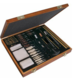 OUTERS 62 piece Universal Wood Gun Cleaning Box 70081