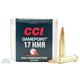 CCI .17 HMR 20gr JHP Gamepoint Ammunition 50rds - 0052