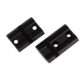 Weaver Top Mount Base Pair for Remington 700 SILVER 48461