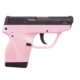 Taurus TCP 380 Black Stainless Steel Pink Polymer Frame 6rd 1-738039BSSP