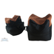 The Outdoor Connection Bench Bag 2 piece set Black/Leather 28213