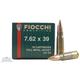 Fiocchi 7.62x39mm Soviet 124gr FMJ Ammunition 20rds - 762SOVA