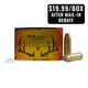 Federal 454 Casull 260gr Fusion Ammunition 20rds - F454FS1