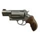 Taurus Judge Public Defender SS Walnut Grip Fiber Front Sight and Black Dog Case 2-441039TCW