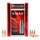 Hornady 22 Cal (.224) 60 gr V-Max Bullets, 100 Count - 22281