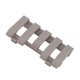 ERGO Low Pro 5 Slot Wire Loom Rail Covers - Dark Earth 4380-DE