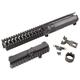 VLTOR VIS-1: Carbine Length Polylithic Upper W/ Forward Assist Black - VIS-1AK