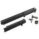 VLTOR VIS-2A: Extended Mid-length Polylithic Upper W/ Forward Assist Black - VIS-2AAK