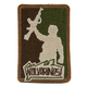 ORCA Industries - Wolverines Major League Patch - Arid oi-patch-wolverines-arid