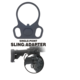 The Outdoor Connection Single Point Sling Adapter ADPT3-28198