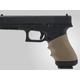 Hogue Handall Universal Sip-On Grip Sleeve Desert Tan Rubber 17003