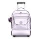 Sanaa Large Metallic Rolling Backpack