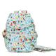 Zax Printed Backpack Diaper Bag