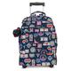 Sanaa Large Printed Rolling Backpack