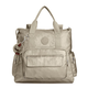 Alvy 2-in-1 Convertible Metallic Tote Bag Backpack