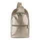 Bente Metallic Sling Backpack