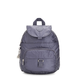 Queenie Metallic Small Backpack