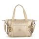 Art Quilted Metallic Handbag