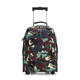 Large Printed Rolling Backpack
