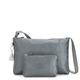 Atlez Duo Metallic Crossbody Bag and Pouch Gift Set