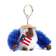 Puerto Rico Monkey Keychain
