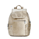 Abygail Small Metallic Backpack